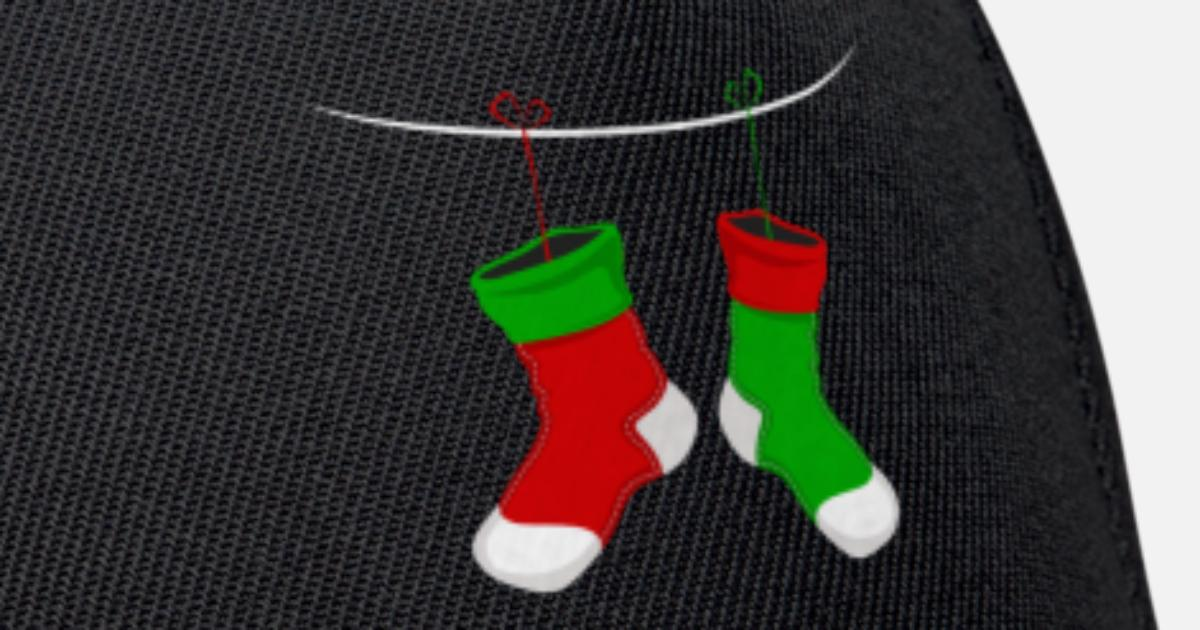 Weihnachtssocke Weihnachtsstrumpf Socken Strümpfe von dizeyns ...