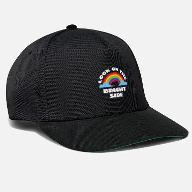 Lotto Hippie Positive Side Life Cool Gift - Snapback Cap