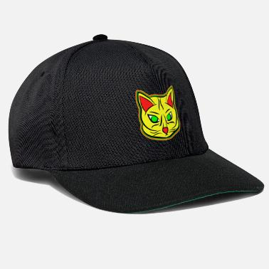 Passion Cats Kitten, RASTA CAT - Snapback Cap