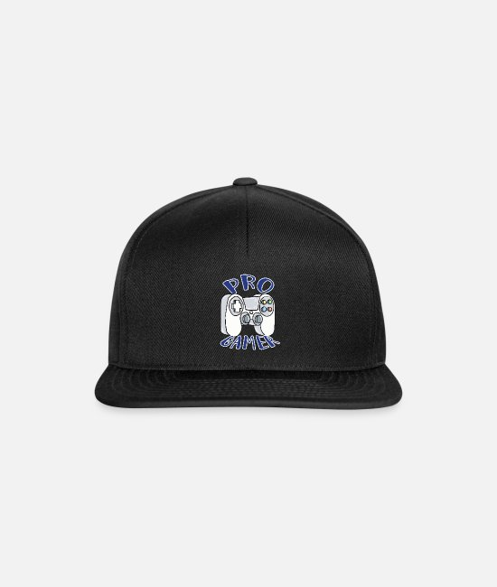Game Caps & Hats - Gaming - Snapback Cap black/black