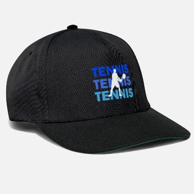 Serve Tennis with lettering in multicolored - Snapback Cap