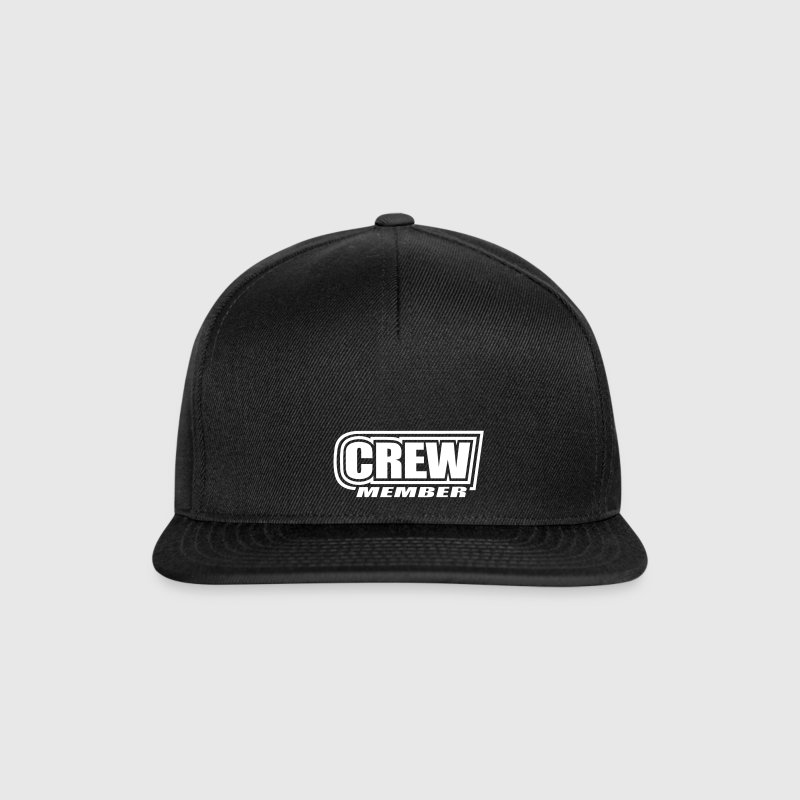 Crew Member   sailing team   sailor sailboat  - Snapback Cap