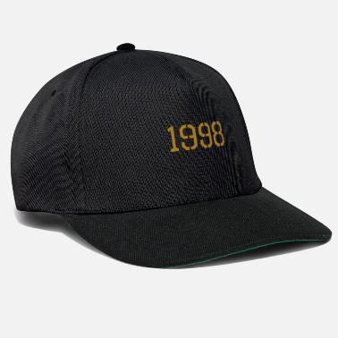 Production Year 1998 year of production gold - Snapback Cap