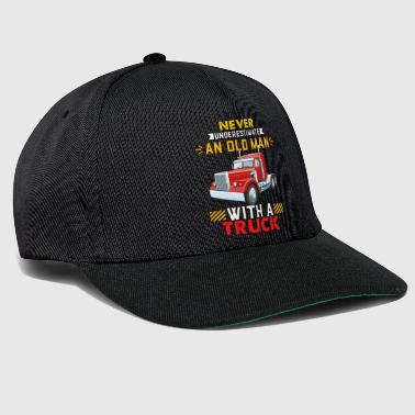 Trucker Old Man - Snapback Cap
