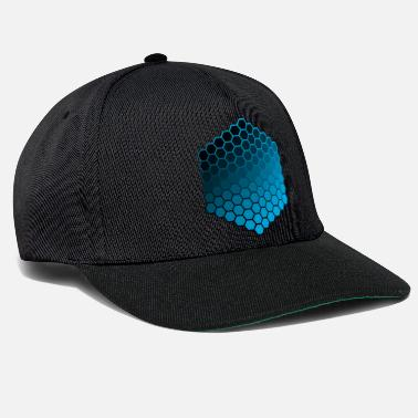 Hexagon hexagons - Snapback Cap