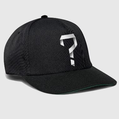 Twisted Question Mark - Snapback Cap