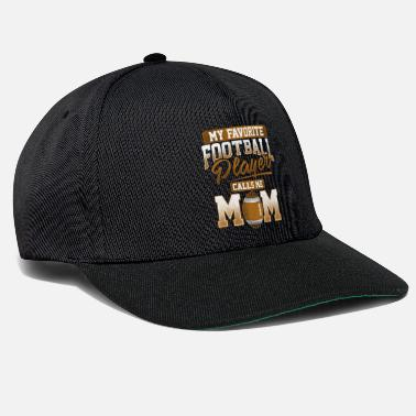 American American Football Player Mom Geschenk - Snapback Cap