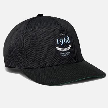 Jubilee 1968 birthday 50 years jubilee edition vintage - Snapback Cap