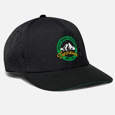 Established Great Smoky Mountains National Park Established - Snapback cap