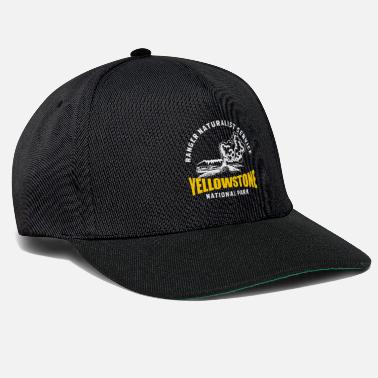 Garde Champêtre Parc national de Yellowstone Geyser Old Faithful - Casquette snapback
