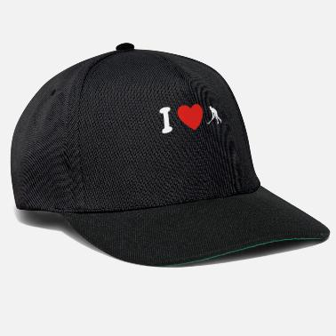 I Love Hockey I love love hockey hockey png - Snapback cap