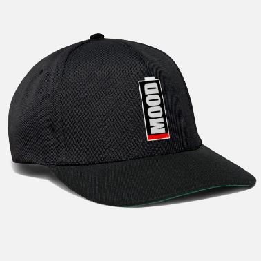 Low MOOD low humor or low battery - Snapback Cap