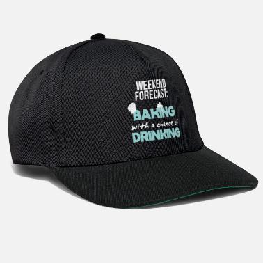 Bager bage bagere mester bagere gave - Snapback Cap