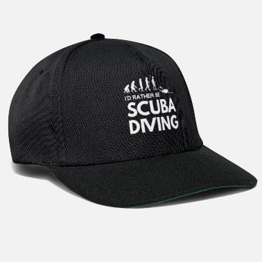 Scuba Dykning - Diver - Scuba Diving - Evolution - Snapback cap