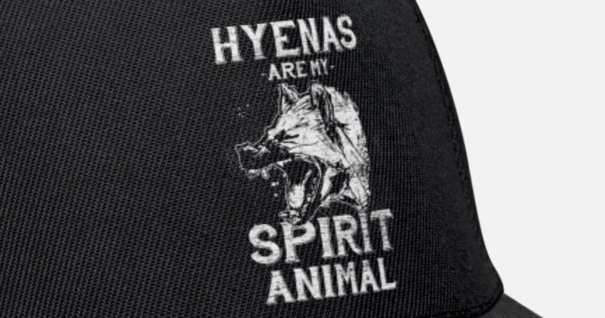 ba13665d9ee3 Hyäne Hyena Afrika Schadenfreude Safari Savanne Snapback Cap   Spreadshirt