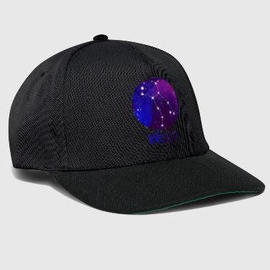 Constellation Wolf - Snapback Cap
