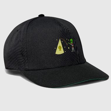 Alien deep-sea fishing - Snapback Cap