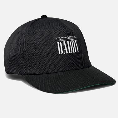 Son Cute Promoted to Daddy Tshirt - Snapback Cap
