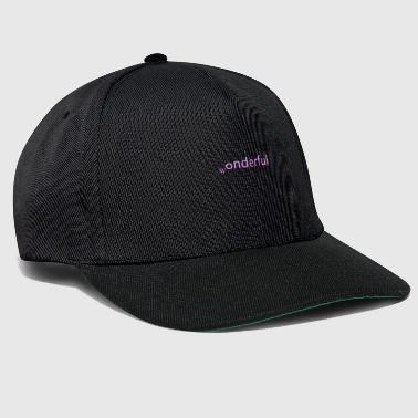 wonderful - Snapback Cap