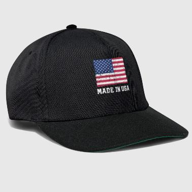 Bandiera USA / Made in USA - Snapback Cap