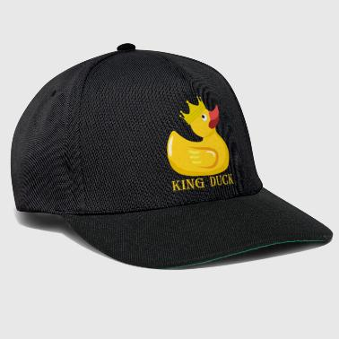 Rubber Duck Queen King majesty crown gift idea - Snapback Cap