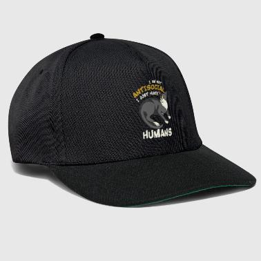 Not An Antisocial Cat - Snapback Cap