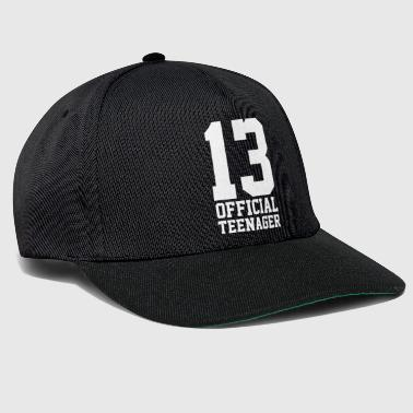 Gift for teen teen 13 years 2003 - Snapback Cap