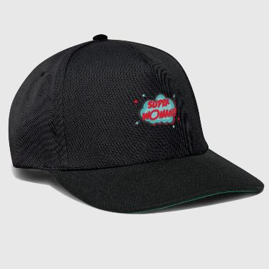 Comic SUPER WOMAN - Snapback Cap