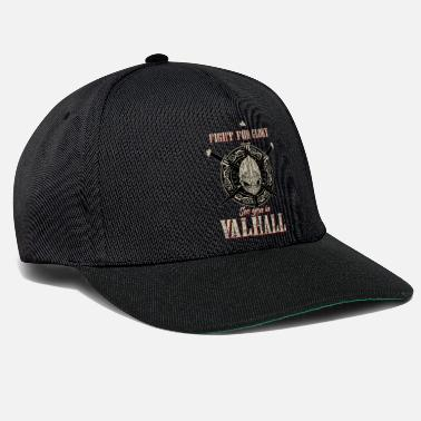 Walhalla Wikinger Fight for Glory See you in Valhall - Snapback Cap