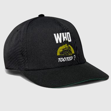 Who tooted? - Railway workers train train drivers - Snapback Cap