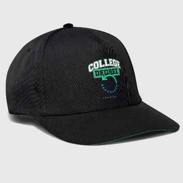 College graduation exam university graduation gift - Snapback Cap