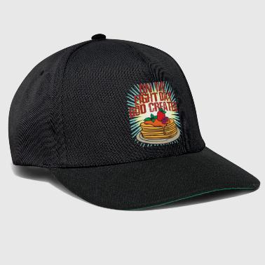 On the Eight Day God created Pancakes - Snapback Cap