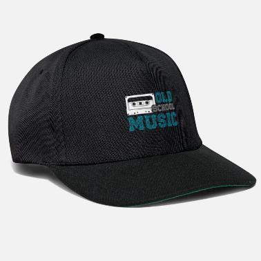 Old School Hip Hop Old School Music Cassette Mixtape Hip Hop - Snapback Cap