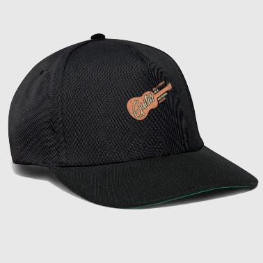 I only need my guitar saying gift - Snapback Cap