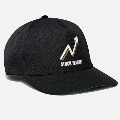 72a30d17608 Stock market arrow gift stock market market Snapback Cap