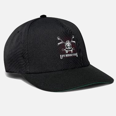 Chopper Motorcycle, Rock, Skull, Chopper, Bike, Two-wheeler - Snapback Cap