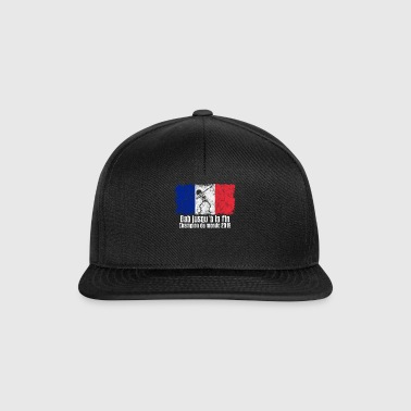 Dabbing France Football 2018 - Casquette snapback