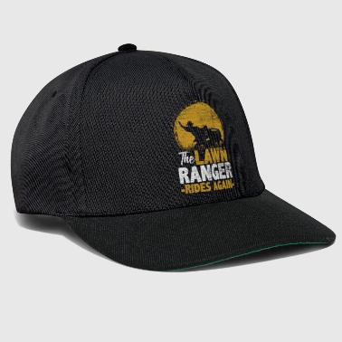 The Lawn Ranger Rides Again - Gift Idea Nature - Snapback cap