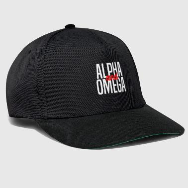 Alpha and Omega Christliches design - Snapback Cap