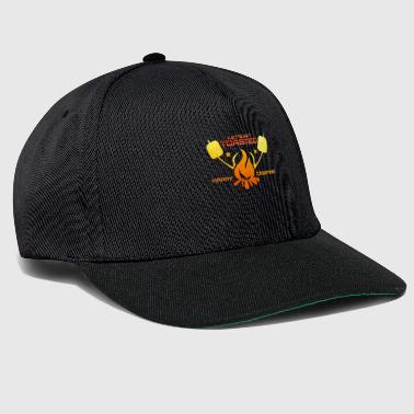 Camping Camper Marshmallow Campfire - Casquette snapback
