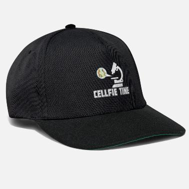 Microscope Cellfie Time - Snapback Cap