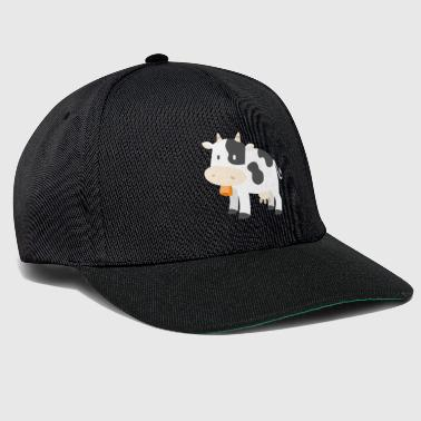 Cow Cows Farmer Farmer Gift Cartoon Comic - Snapback cap