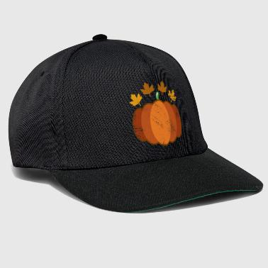 Autumn pumpkin gift thanksgiving - Snapback Cap