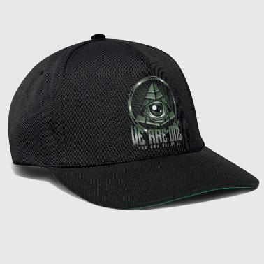 Pyramid Eye All-seeing Egypt Antique - Snapback Cap