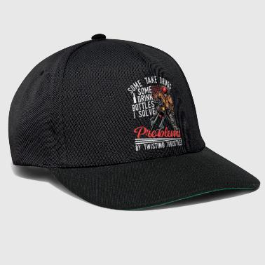 Motocross Motocross Dirt Bike Solve Problems - Snapback Cap