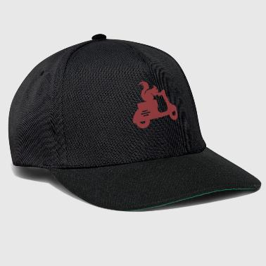 Scamp Squirrel moped - Snapback Cap