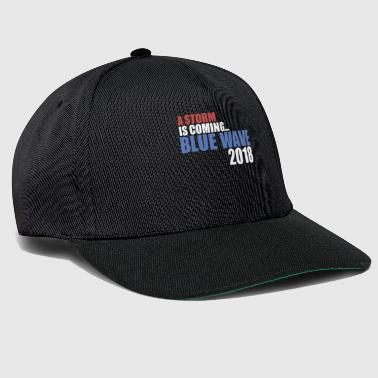 A Storm Is Coming.. Blue Wave 2018 - Snapback Cap