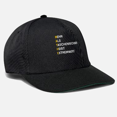 Mathematic mathematics - Snapback Cap