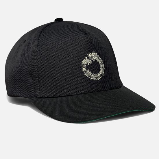 Dragon Head Caps & Hats - Asian kite - Snapback Cap black/black