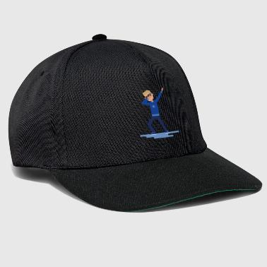 Dab Cool type of Dabbed - Dab - Dabbing - Snapback Cap